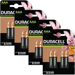Baterie Duracell Pre-Charged AAA 800mAh 16pk