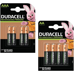 Baterie Duracell Pre-Charged AA & AAA 8pk