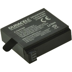 Replacement GoPro Hero 4 Battery, 2 pack