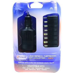 Aspire One A150-1493 Car Adapter (Multi-Tip)