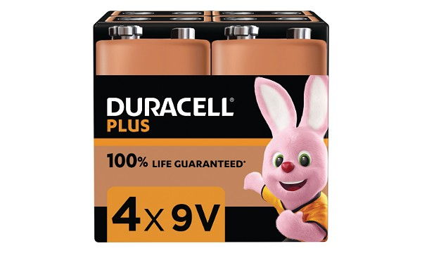 Bateria Duracell Plus Power 9v ( 4 szt.)
