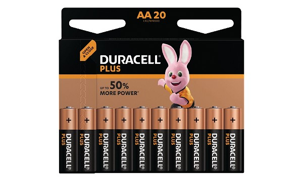 Bateria Duracell Plus Power AA