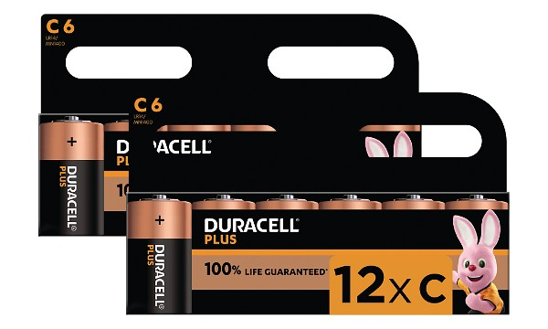 Bateria Duracell Plus Power, Rozmiar C