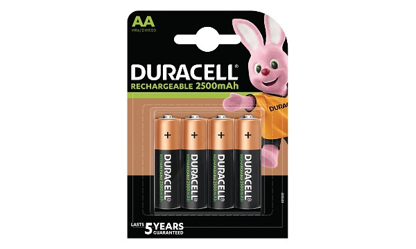 Baterie Duracell Pre-Charged AA 2500mAh